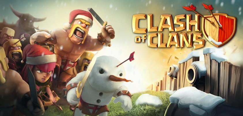 Clash clans расположение